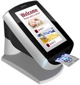 Qmatic Intro 8 Self Service kiosk